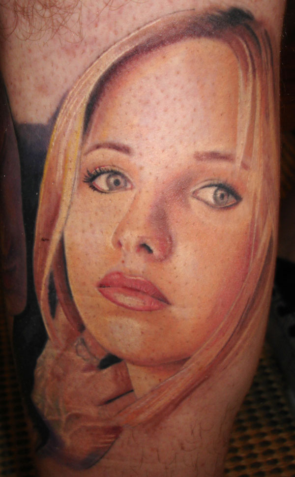 Buffy the vampire slayer by christopher allen tattoonow for Buffy angel tattoo