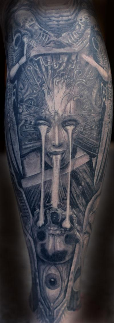 Tattoos - Giger tattoo - 89506