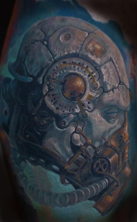 painting replication Tattoo Design