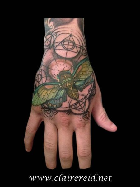 Cicada hand tattoo Tattoo Design