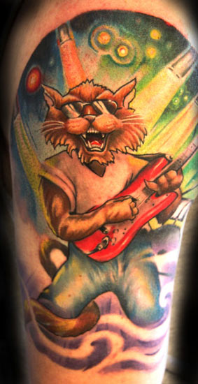 stray cats tatouage