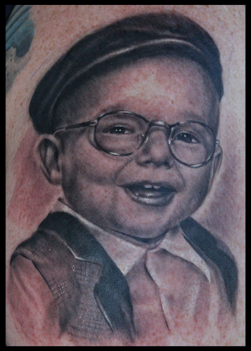Cory Norris - child portrait