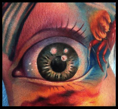 Cory Norris - color eyeball