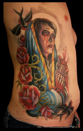 Cory Norris - Virgin mary on ribs