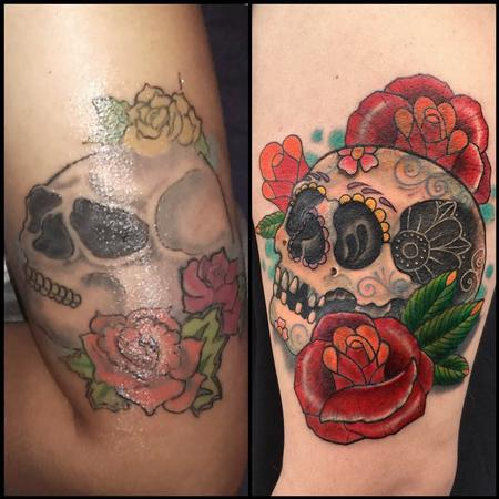 Day of the Dead fix-up/cover-up Design Thumbnail
