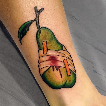 Tattoos - Pear from the codexseraphinianus - 119168