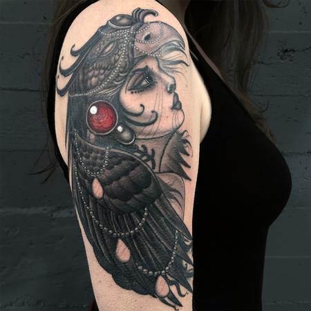 Phoenix Goddess Design Thumbnail
