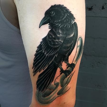 Tattoos - Old crow  - 129432