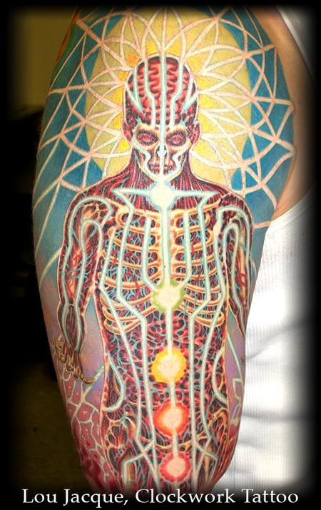 Tattoos Alex Grey?