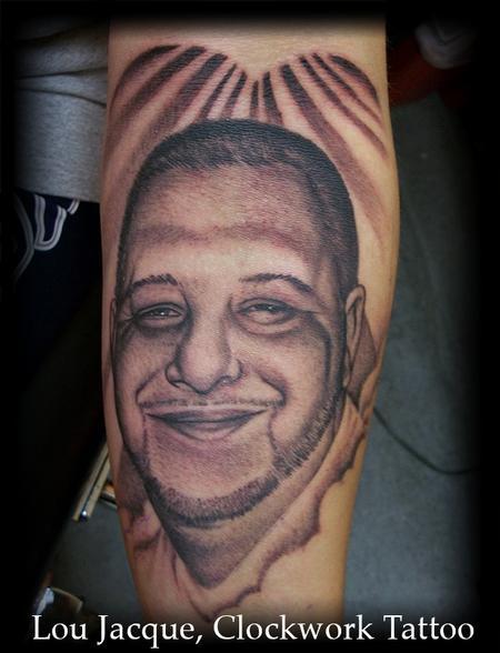 Tattoos Memorial Portrait