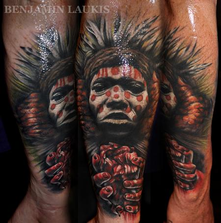 Benjamin Laukis - witch doctor