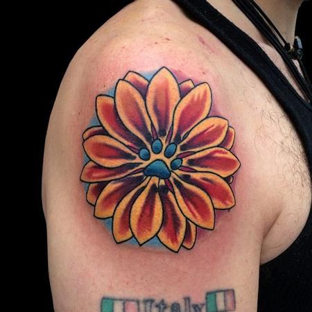 Tattoos - Daisy was her name-o - 95817
