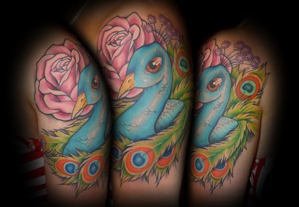 Peocock Tattoo Tattoo Design