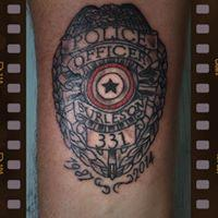 Tattoos - Law Enforcement - 131646