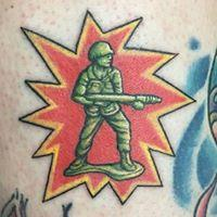Tattoos - Army Man - 131616
