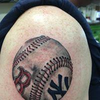 Tattoos - Baseball - 131628