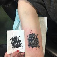 Tattoos - Pawprint - 131626