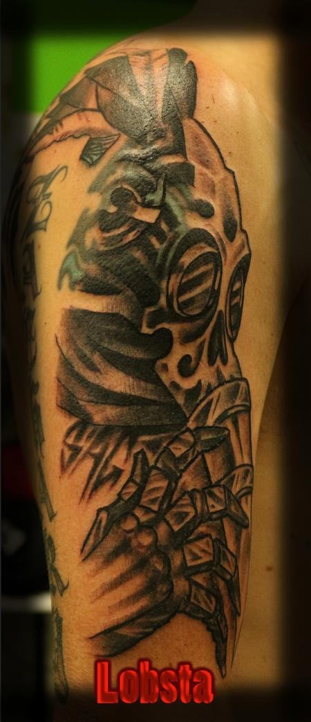 Tattoos - Artist_Choice_Cover_Up_in_progress_Lobsta - 129068