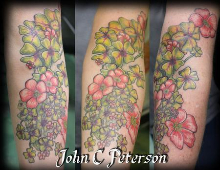 Floral_Tattoo_John_C_Peterson Design Thumbnail