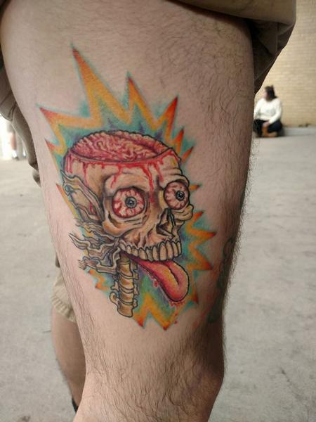 Tattoos - Brain Explosion  - 127457