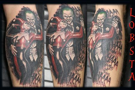Tattoos - jokerandharleyquinn_joker_harleyquinn_tattoobyLobsta_Lobsta - 129626