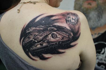 Tattoos - Millennium Falcon - 127452