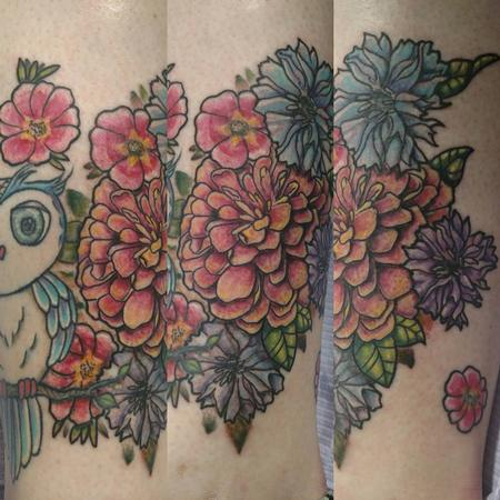 Tattoos - Owl - 126508