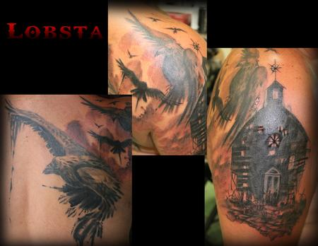 Tattoos - Raven_Church_Lobsta - 128518