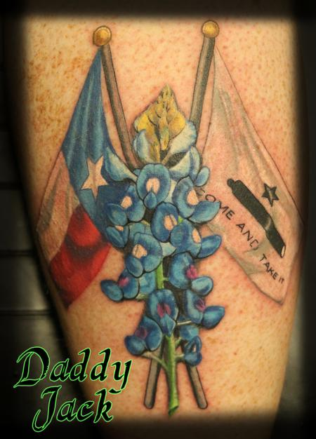 Daddy Jack - Texas_Theme_Blue_Bonnets_Daddy_Jack