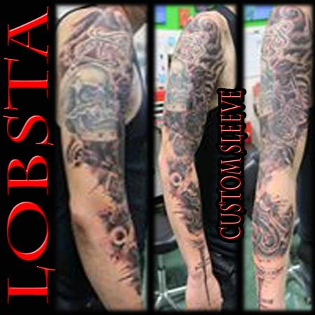 Tattoos - Lobsta Sleeve - 130937