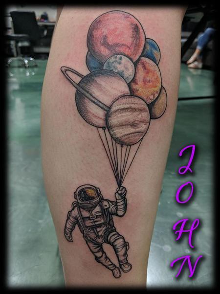 Tattoos - Astronaut_PlanetBalloons_John - 133762