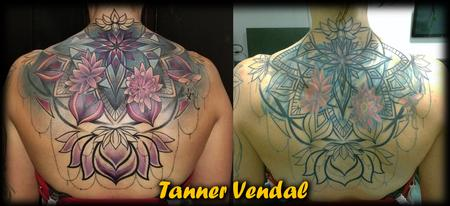 Tattoos - Ornamental BackPiece CoverUp TannerVendal - 133732