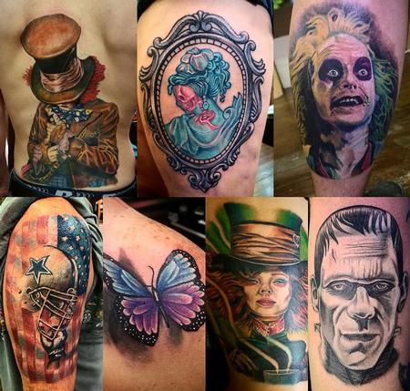 Tattoos - Tattoo collage 1 - 132513