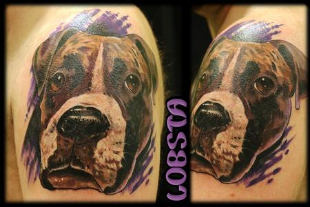 Tattoos - Boxer Portrait - 131611