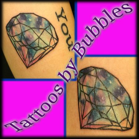 Tattoos - Galaxy Diamond - 131624