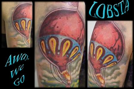 Tattoos - Hot Air Balloon - 130935