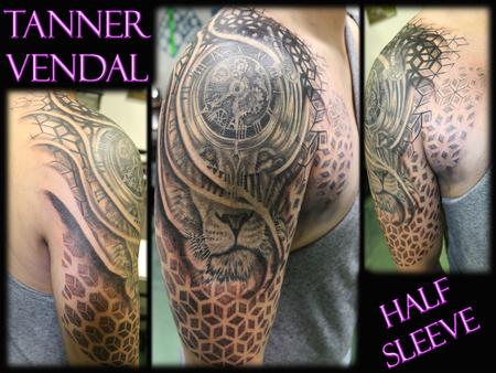 Tanner Vendal - Custom Half Sleeve