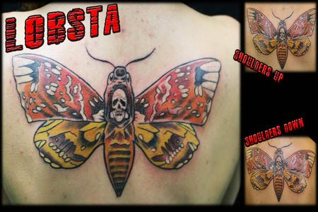 Tattoos - Lobsta Moth - 130744
