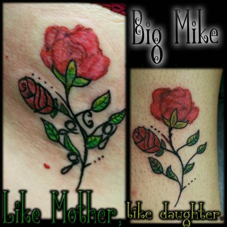 Tattoos - Mother Daughter pieces - 131867