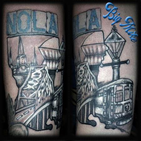 Tattoos - New Orleans Piece - 131666