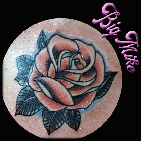 Tattoos - Traditional Rose - 131669