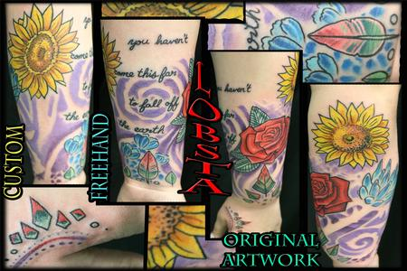 Tattoos - Original Floral Sleeve by Lobsta - 130897