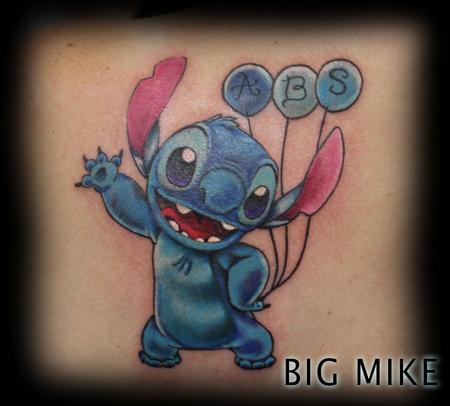 Tattoos - stitch disney tattoo - 129531
