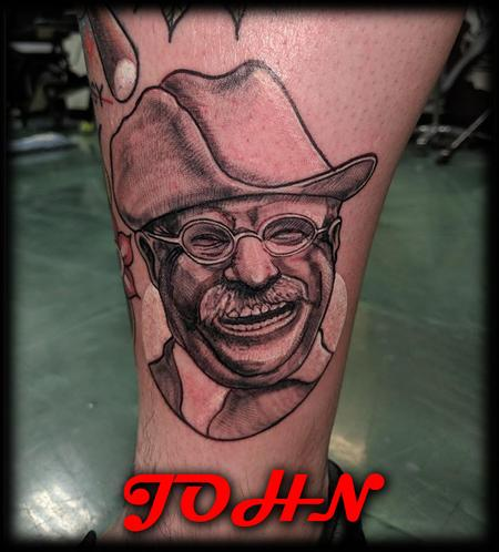Tattoos - Teddy_Roosevelt_By_John - 133771