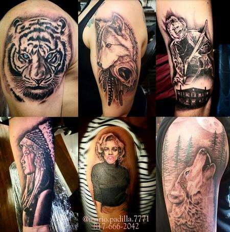 Tattoos - Tattoo collage 2 - 132517