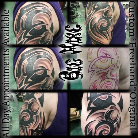 Freehand Custom Original Tribal Design Thumbnail