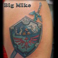 Tattoos - Zelda Shield - 131479