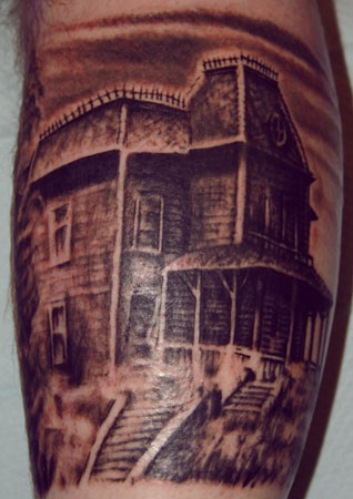 Bates motel by dan henk tattoonow for Tattoo shops in norman