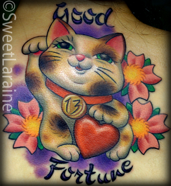 Sweet Laraine - Good Fortune Kitty