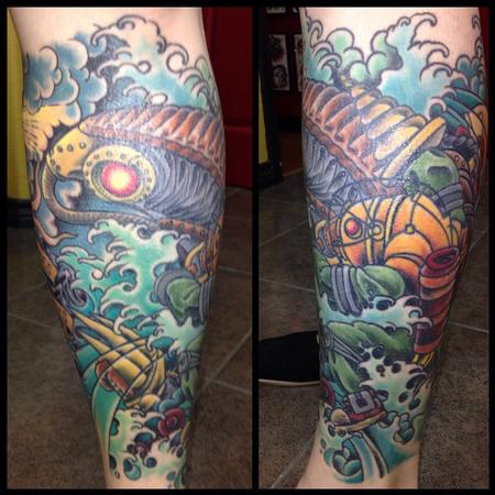 Tattoos - Party Sleeve - 102224